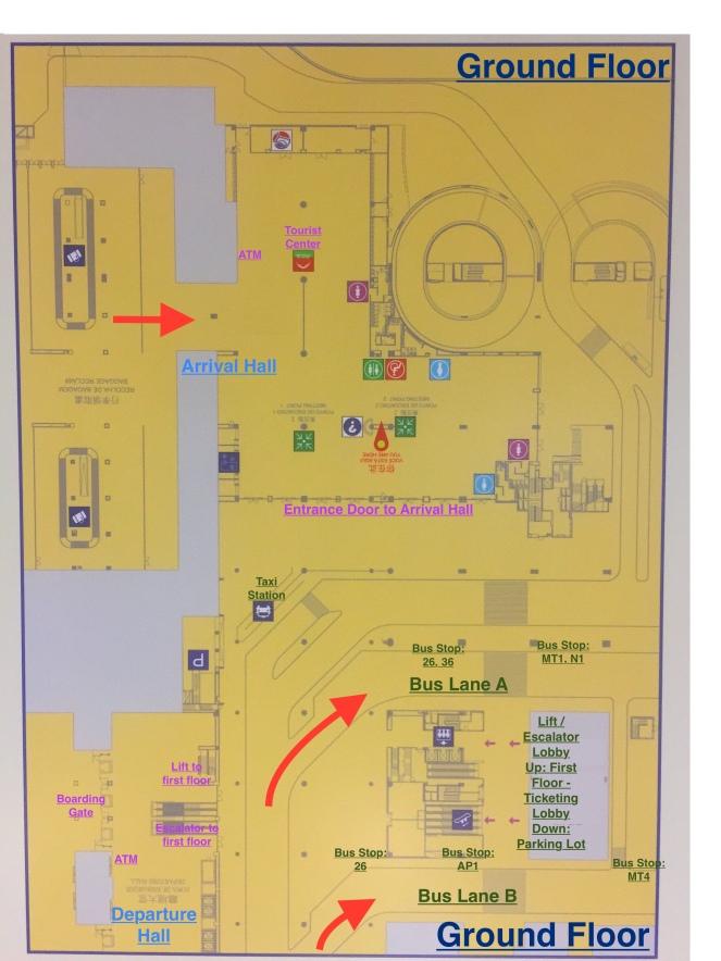 Ground Floor Plan with Description